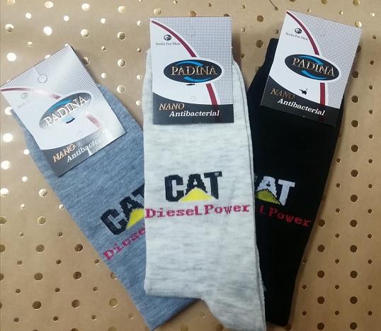 جوراب مردانه طرح کت CAT